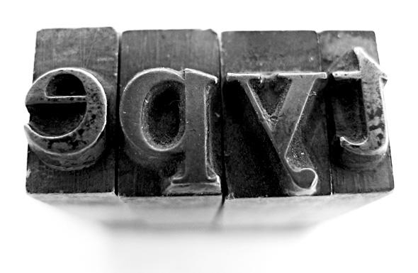 Cómo utilizar la tipografía en nuestras páginas web