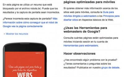 Google premiarà les pàgines web responsives o optimitzades per a mòbils