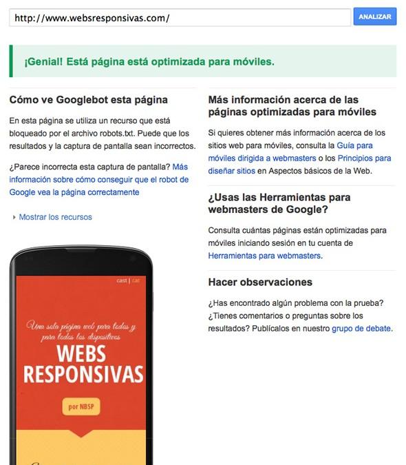 Google premiará a las páginas web responsivas u optimizadas para móviles