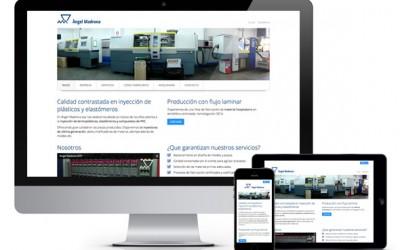 Página web responsiva para Plásticos Madrona