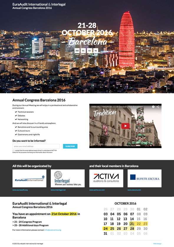 Annual Congress Barcelona 2016