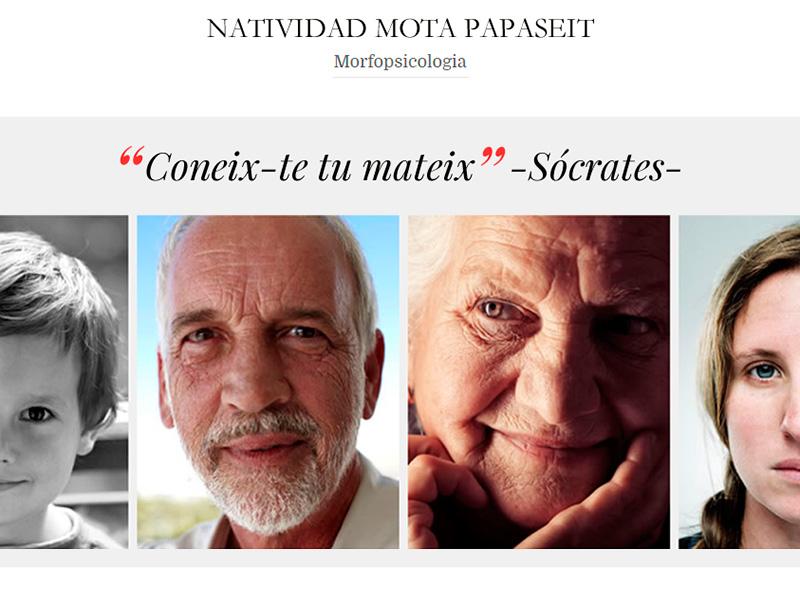 Natividad Mota Papaseit – Morfopsicología