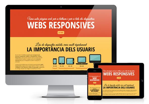 Nuevo minisite sobre páginas web responsivas