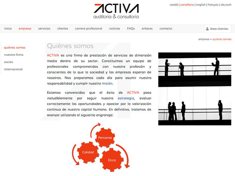 Auditoría y consultoría ACTIVA